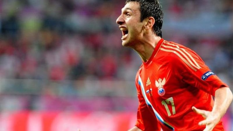 Alan Dzagoev' double signalled Russia could be a force to be reckoned with during tournament [EPA]