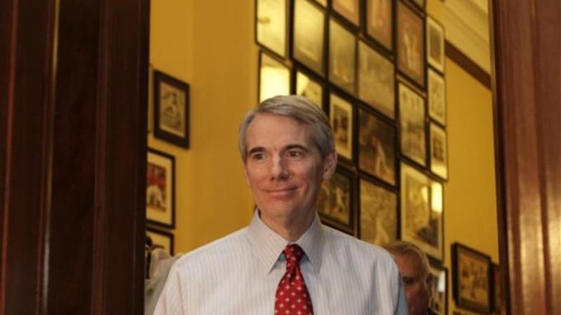 Ohio Senator Rob Portman has been mentioned as a possible Mitt Romney vice presidential pick [AFP]