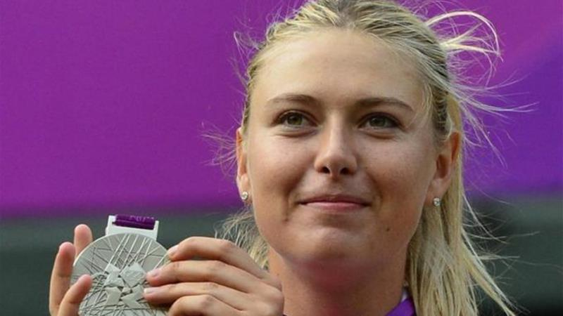 Sharapova was second best to Serena Williams at Olympics but will be hoping to get revenge at US Open [AFP]