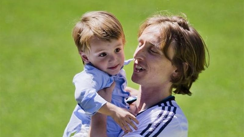 Former Spurs player Modric joined reigning Spanish champions Real Madrid for $44 million this week [AP]