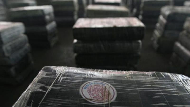 According to two economists who studied the trade of Colombian cocaine, only 2.6 per cent of the total street value of cocaine produced remains within the country [REUTERS]