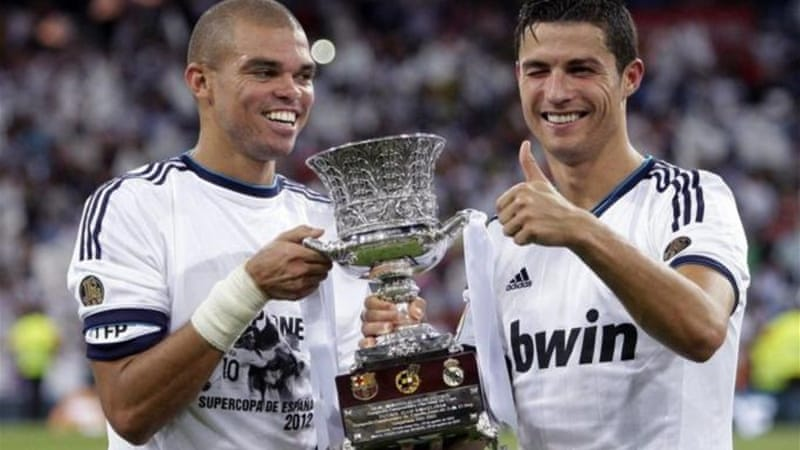 Spanish Super Cup winners Real Madrid have been drawn in the Group of Champions [EPA]