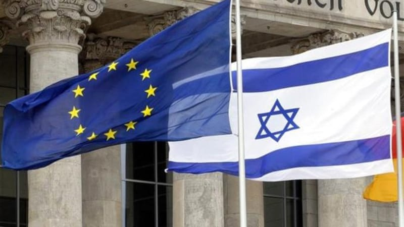 Although the European Union regularly chastises Israel, they undermine it by increasing trade with them [EPA]