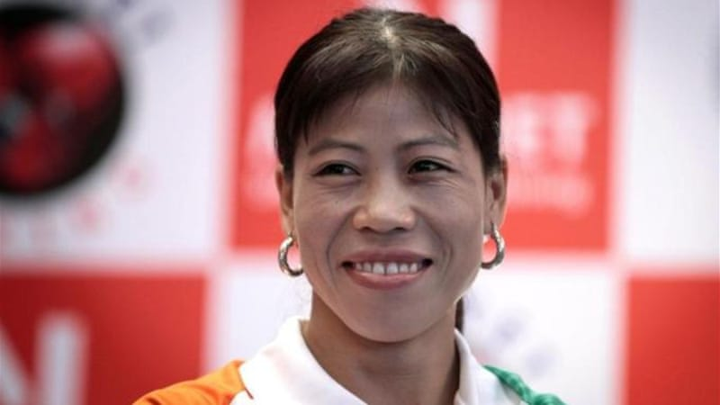 The new face of women's sport in India? Boxer Mary Kom has captured her nation's attention with a bronze [AP]