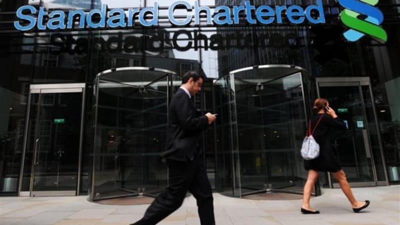 Standard Chartered could see its New York licence removed for allegedly trading with Iranian financial institutions while they were subject to US economic sanctions [EPA]