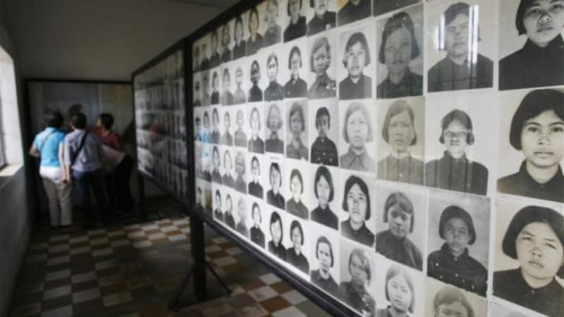 More than 1.7 million people died during Khmer Rouge's four-year rule [EPA]