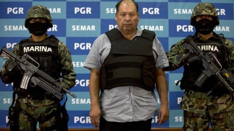 Cartel 'boss' captured as strategy questioned