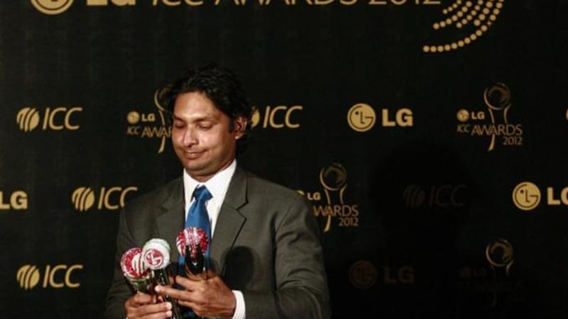 With stunning statistics, including an average of over 60, Sangakkara deserved his three ICC awards [Reuters]