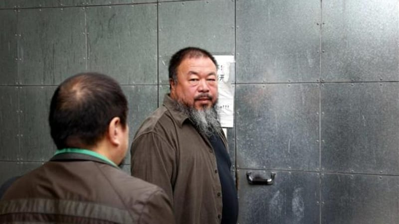 "After his appeal was rejected, Weiwei said China has the ""most barbaric and backward legal system"" [Reuters]"