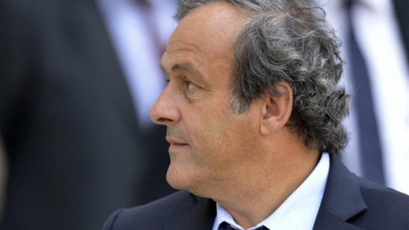 UEFA President Michel Platini was cautious about giving Kosovo approval to play friendlies [AFP]