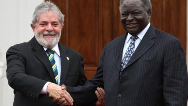 Dilma Rousseff's predecessor, Luiz 'Lula' da Silva, increased relations and investment with Africa [REUTERS]