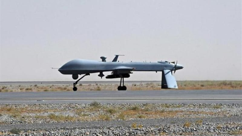 Obama's 'smart power' policy has included increasing drone strikes in Pakistan and Afghanistan [REUTERS]