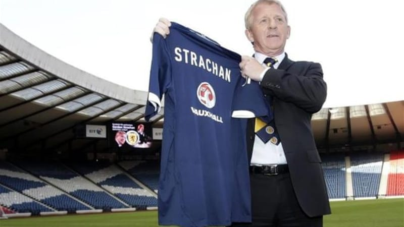 A match made in heaven? Strachan has the passion and experience to give Scotland a much needed boost [AP]