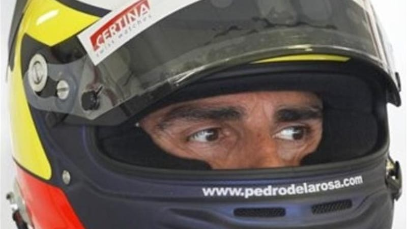 At the age of 41, Spaniard Pedro de la Rosa will be helping Ferrari with their simulator work [AP]