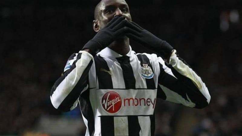 Demba Ba finished 2011/12 season with 16 goals and was Newcastle's top scorer [GALLO/GETTY]