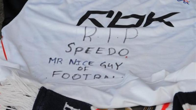 The death of footballer Gary Speed in 2011 led to the PFA sending advice leaflets to 50,000 ex players [AFP]