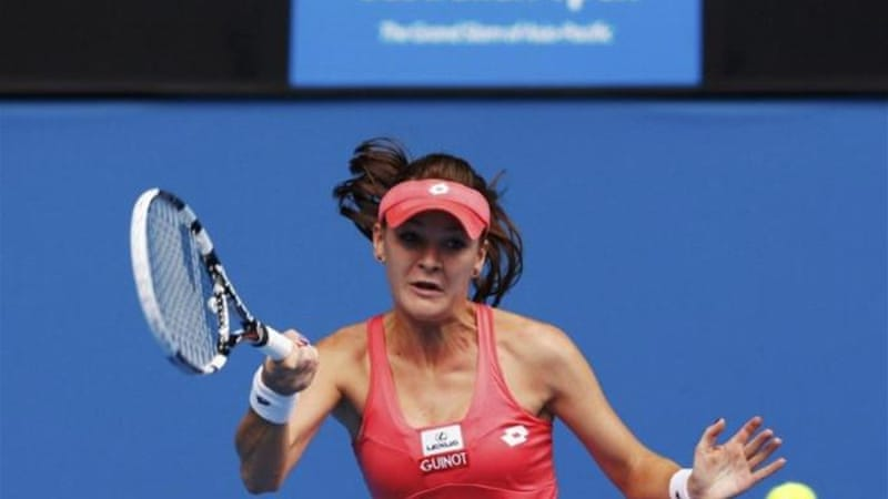 Radwanska entered Aussie Open on back of Auckland and Sydney title but was beaten by 'consistent' opponent [Reuters]