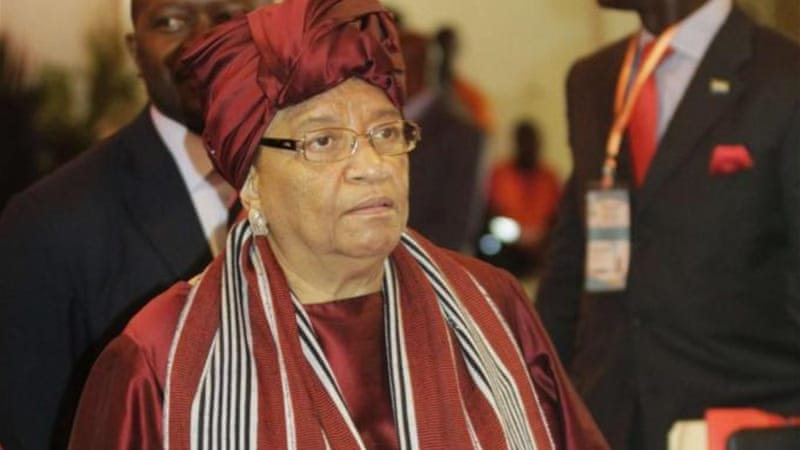 Liberian President Ellen Johnson-Sirleaf was quick to implement recent anti-corruption recommendations [Reuters]