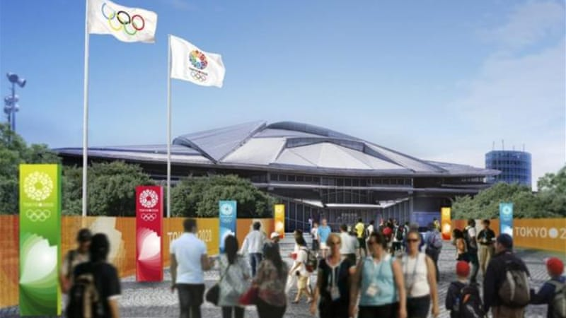 One of the proposed venues for the 2020 Summer Olympic in Tokyo [Reuters]