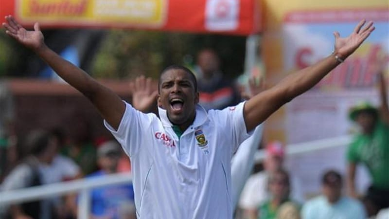 In-form South African bowler Vernon Philander will miss the second Test due to a hamstring injury [AFP]