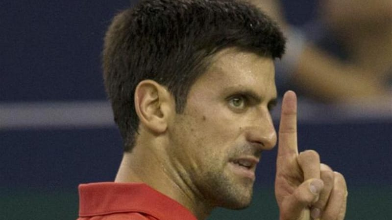 After losing his world number one status to Nadal, Djokovic (pictured) will be eager to meet Spanish rival in final [AP]