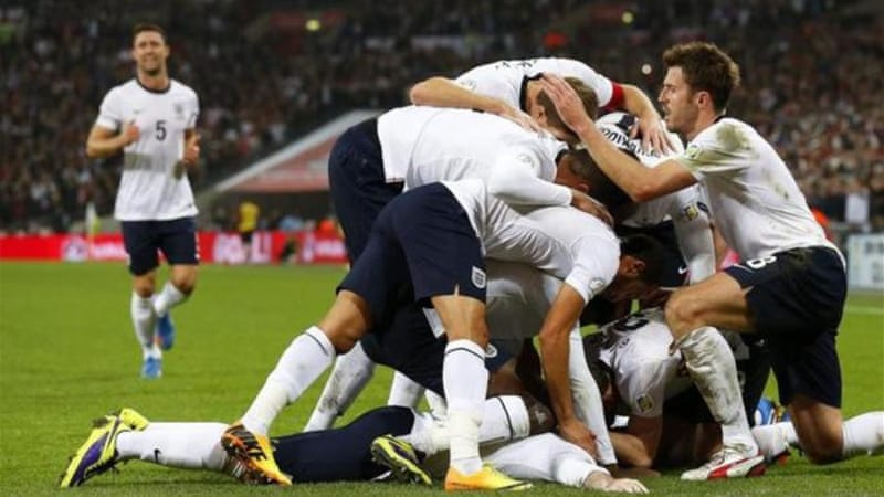 Despite intense media scrutiny and pressure, England ended up Group E winners ahead of Ukraine [EPA]