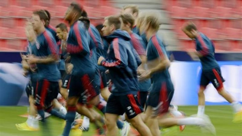 The images of Bayern Munich players will shortly become a lot clearer to audiences in Asia and North America [EPA]