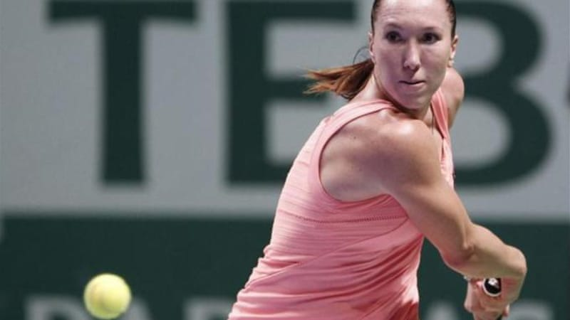 Jankovic (pictured) starts the Istanbul competition in blistering form against one of the WTA favourites Azarenka [Reuters]