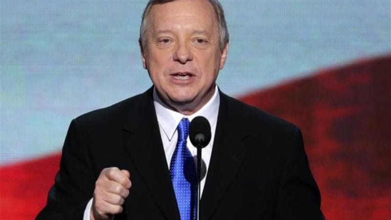 Last Sunday, Senate Majority Whip, Dick Durbin's comments on the need to 'fix Social Security' brought the ire of many progressive Democratic supporters, author Cliff Schecter being one [AP]
