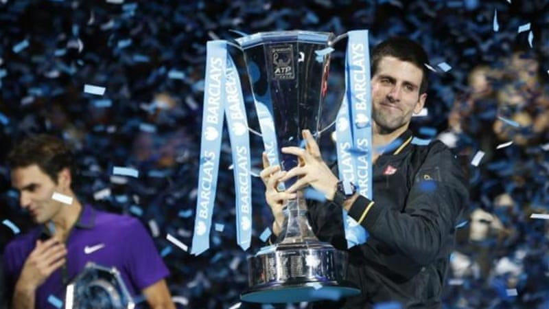 November 2012: Novak Djokovic defeated Roger Federer in the end of season World Tour finals [Reuters]