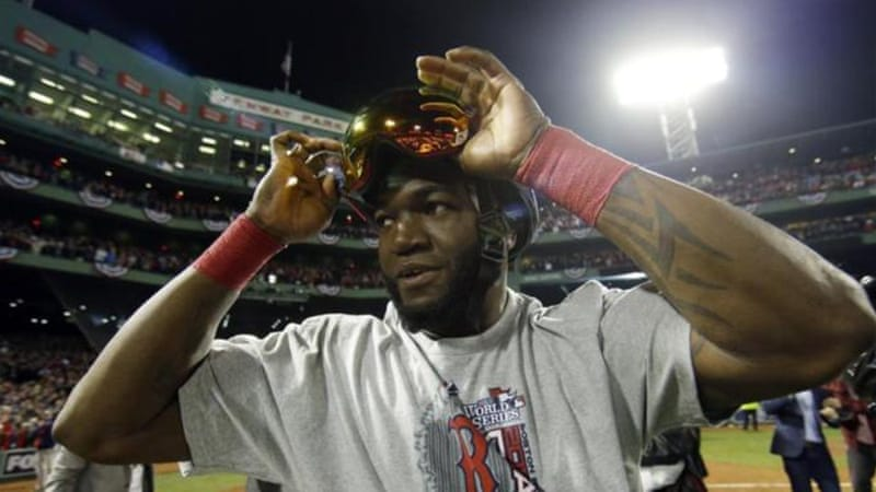 David Ortiz was named World Series MVP for his performance at the plate for Boston [AP]