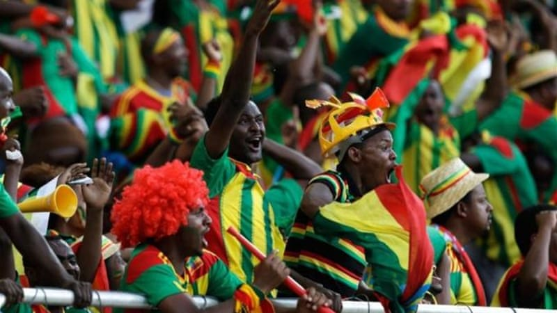 Ethiopia supporters have plenty to cheer with their nation still in the running for World Cup places [AP]