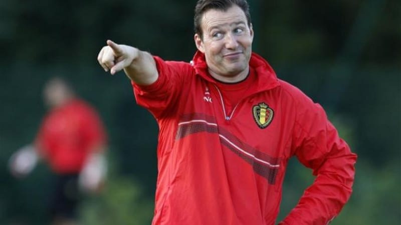 Belgium's coach Marc Wilmots has no intention of playing for the required draw against Croatia [Reuters]