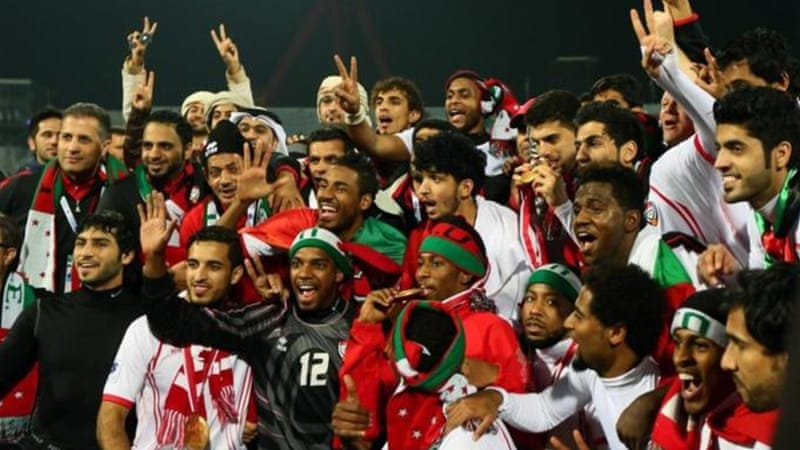 The UAE were winners of the 2013 competition with a 2-1 victory over Iraq in the final in Bahrain [AFP]