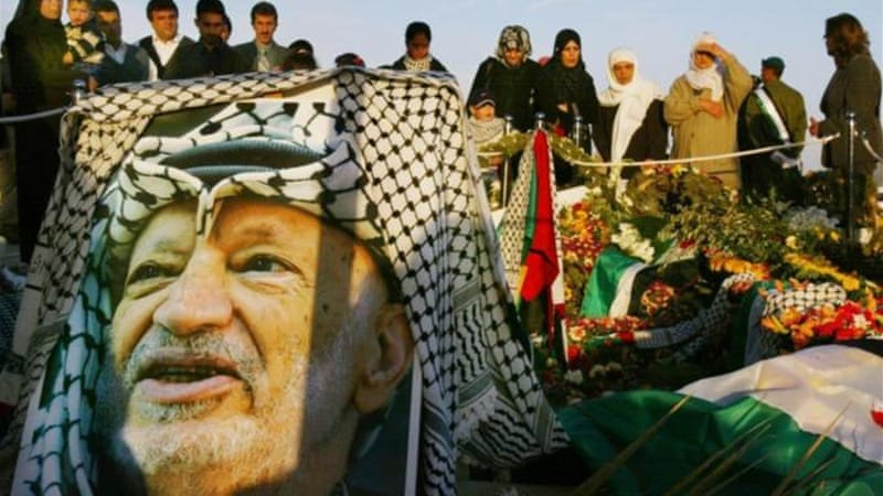 Studies show that Arafat's symptoms fit with the known pattern of Po210 absorption [Getty Images]