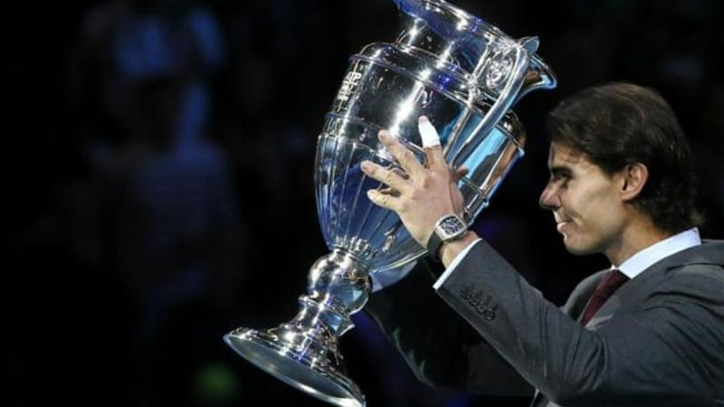 Nadal already got one trophy in London last week after beating Djokovic to the world number one ranking [AP]