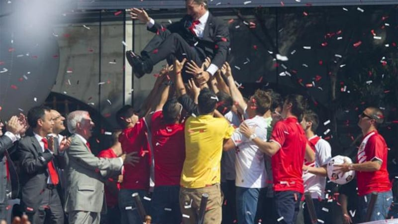 Gibraltar coach Allen Bula was on a high after Gibraltar were granted UEFA membership in May [AFP]