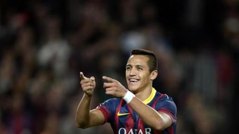 Alexis Sanchez (pictured) continues great vein of form for Barca as Messi once again draws a blank [AP]