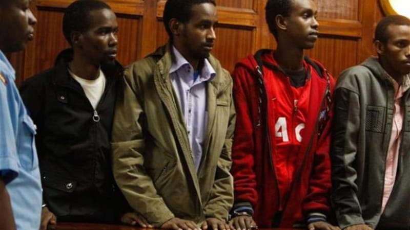 The four suspects also face charges of entering Kenya illegally and obtaining false identification documents [EPA]