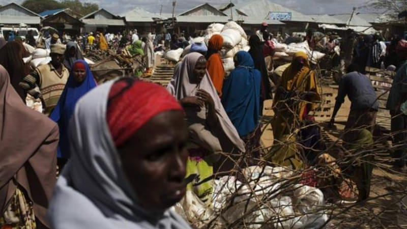 Food rations at Dadaab refugee camp have been cut by 20 percent [Reuters]