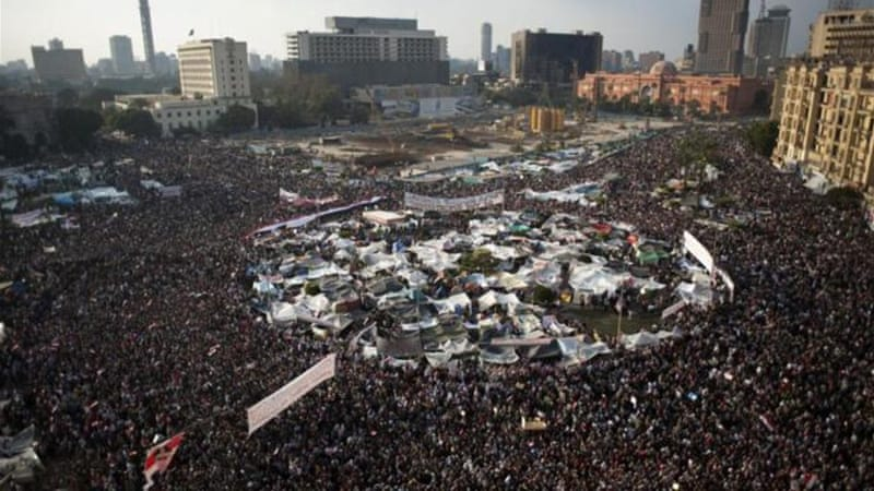 """Uprooting this corrupt system and replacing it with a more inclusive one that provided economic security and dignity for all, was the core demand of the revolutionaries who took to Egypt's streets in 2011,"" write the authors [Getty]"
