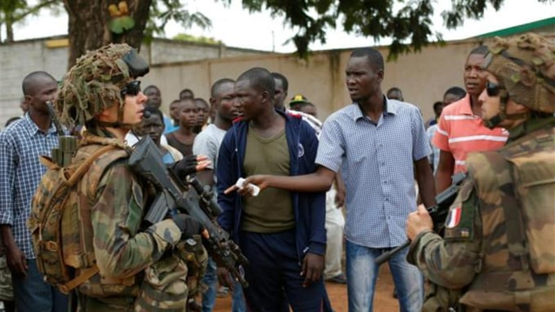 France has participated in two military interventions in Africa in the span of a year [AP]