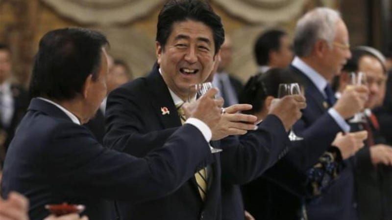 Japan seeks ASEAN backing on China with $20 bn pledge [Reuters]