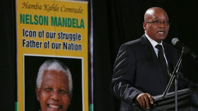 The ANC's path has veered away from what Mandela envisioned in the early 1990s, writes the author [Getty Images]