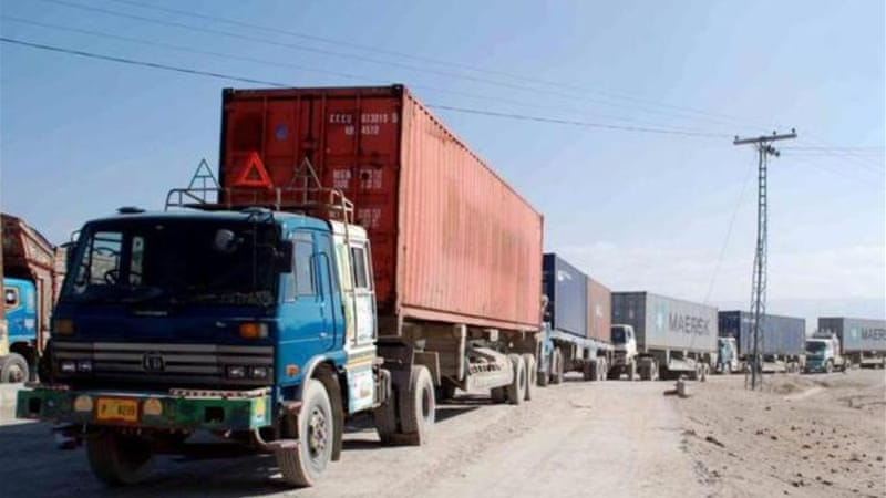 Latest shutdown of Pakistan-Afghanistan border for NATO trucks have lasted over seven months [EPA]