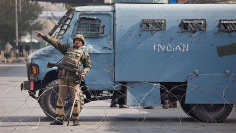 Violence in Indian Kashmir has dipped in recent years, resulting in resumption of normal civilian activity [AP]