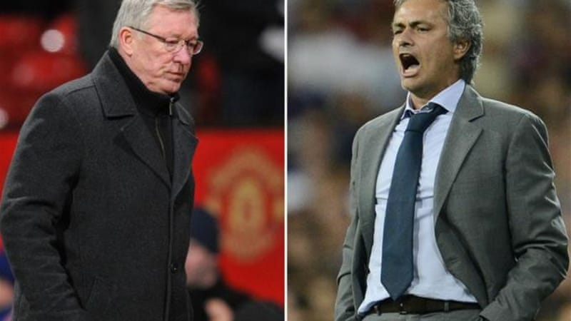 Friends, rivals and two of the best managers in the world clash in this epic last 16 clash [AFP]