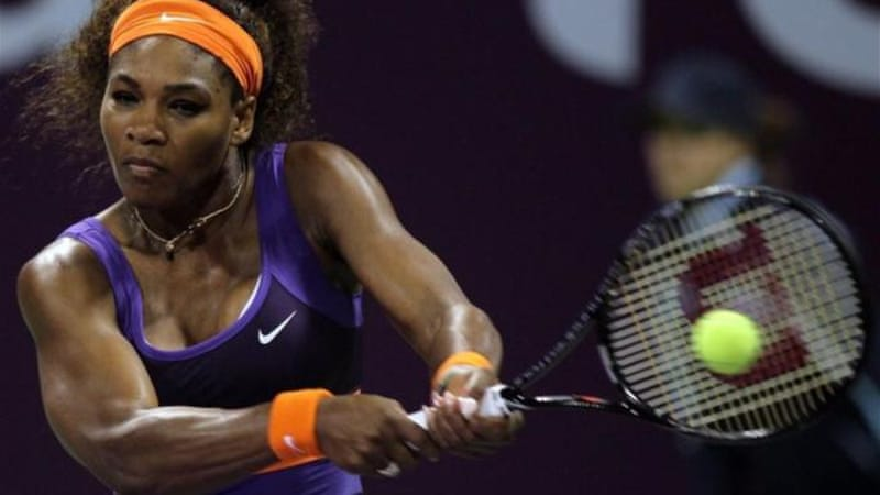 Williams defeated Russian Daria Gavrilova to reach the third round where she will face Roberta Vinci [AP]