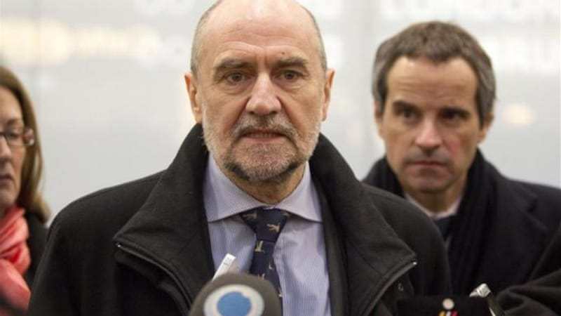 "IAEA head Herman Nackaerts told reporters, ""time is needed to reflect on the way forward"" [AFP]"