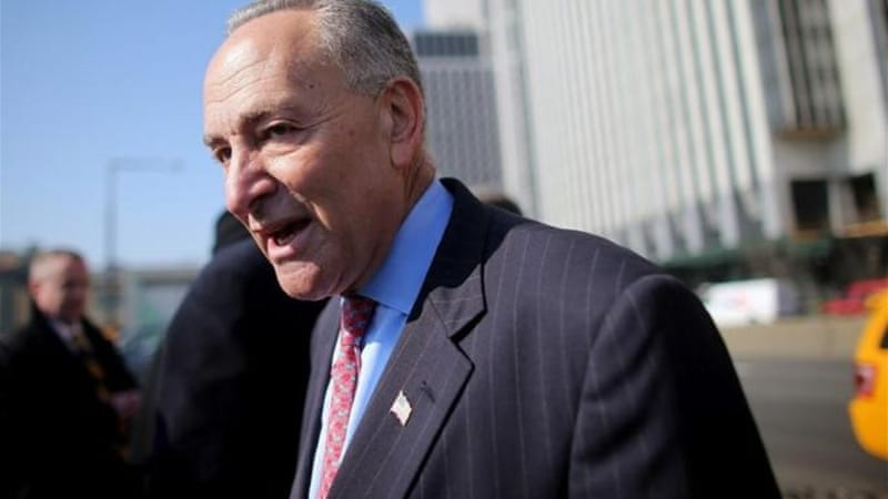Senator Charles Schumer wants support to eight bipartisan lawmakers working on immigration reform [Getty]